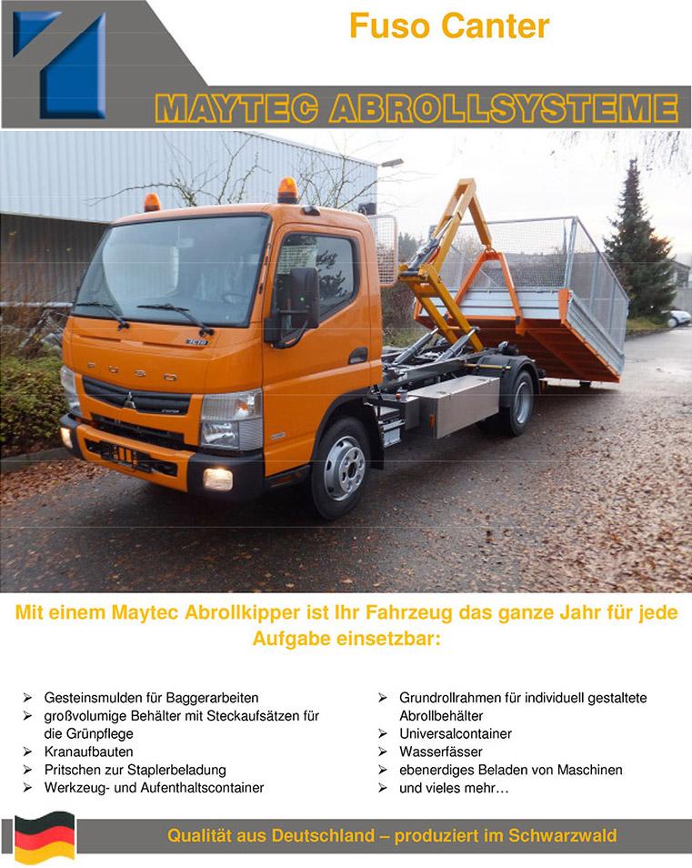 Maytec Abrollsystem für FUSO
